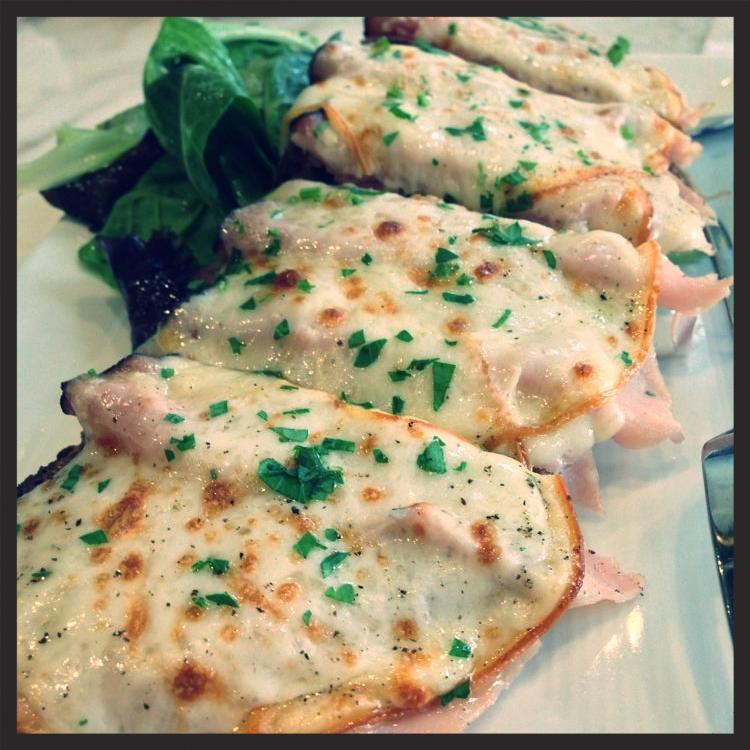 Ham & cheese tartine at b. patisserie | Yelp, Jess C.
