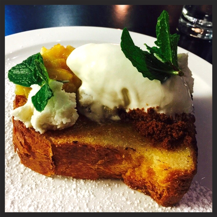 Mascarpone ice cream lemon brioche  | Yelp, Jewels L.