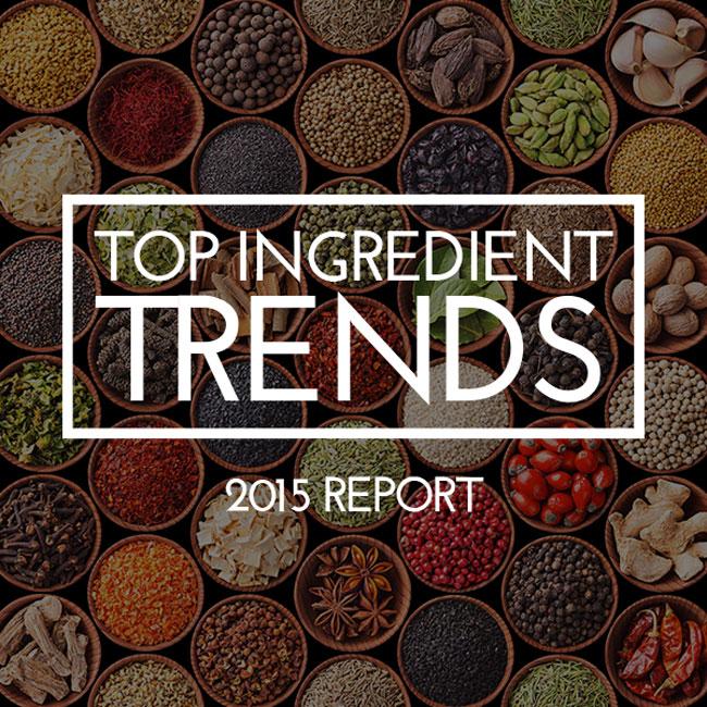 2015 Top Ingredient Trends