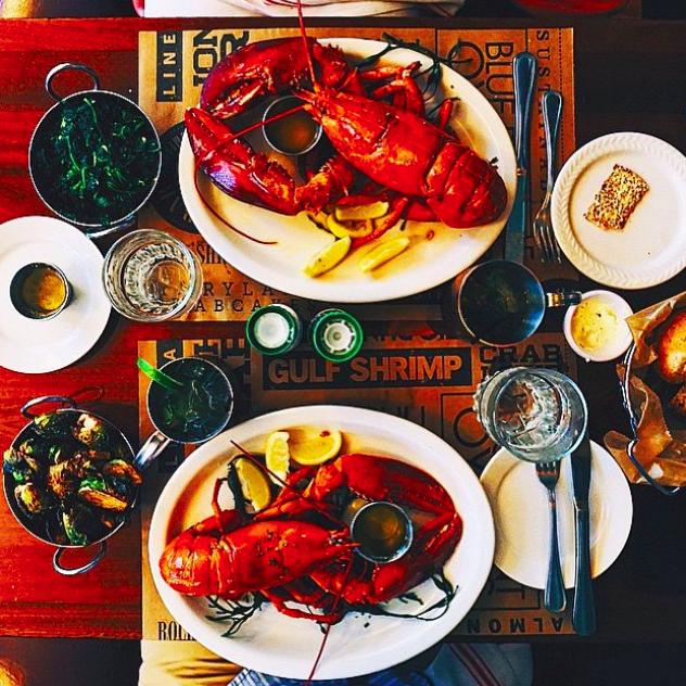 A lobster spread at City Crab  | Credit: Instagram, @Projct33