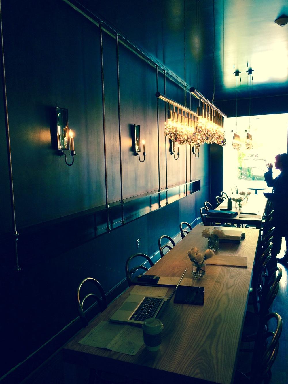After Peacock Room interior  | Courtesy of Chef Sebastien Rondier