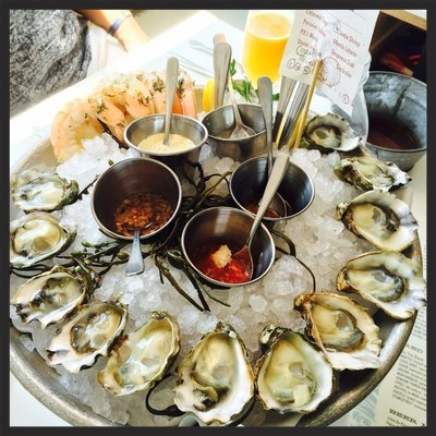 Fishing With Dynamite's Oyster Platter  | Yelp, Jennifer T.