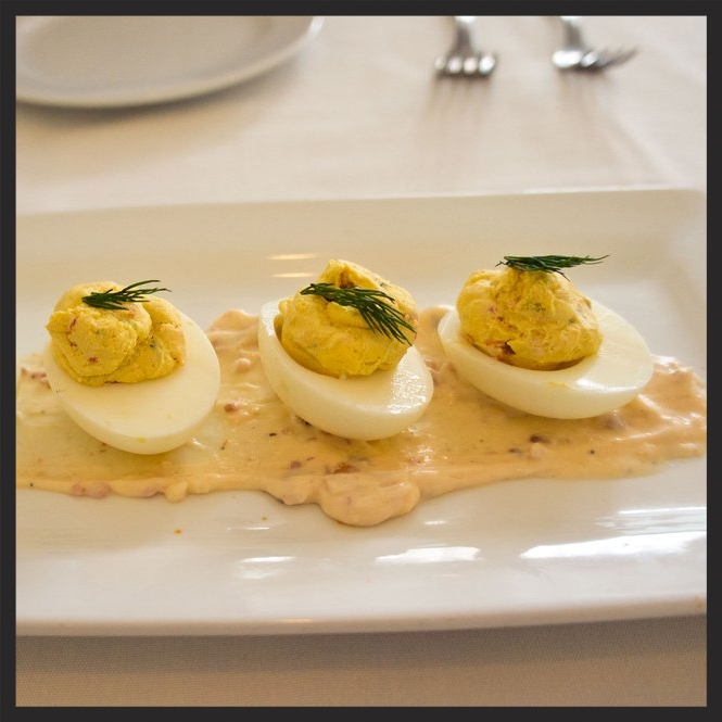 Hattie's Lobster Deviled Eggs | Yelp, Karen L.