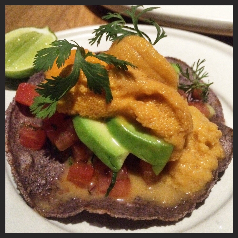 Uni Tostada at Cosme | Yelp, Albert C.