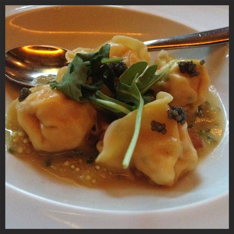 Scallop Dumplings at Catch | Yelp, Michelle Y.