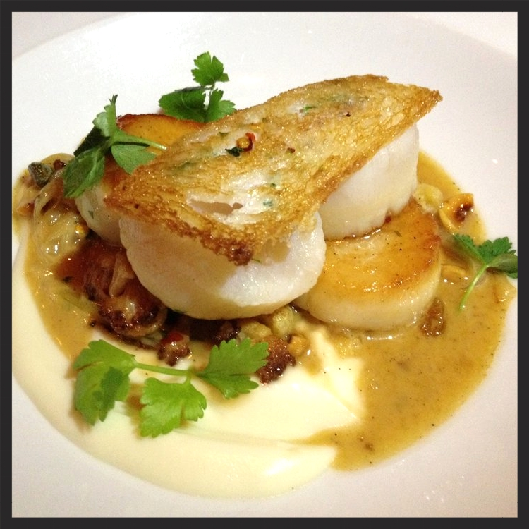 Scallops at Marc Forgione | Yelp, Rose W.