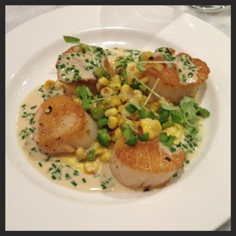 Scallops at Wright & Co.  | Yelp, Skip D.