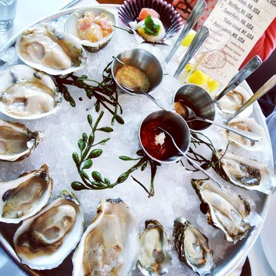 Oyster Platter at Fishing With Dynamite | Yelp, Christine A.