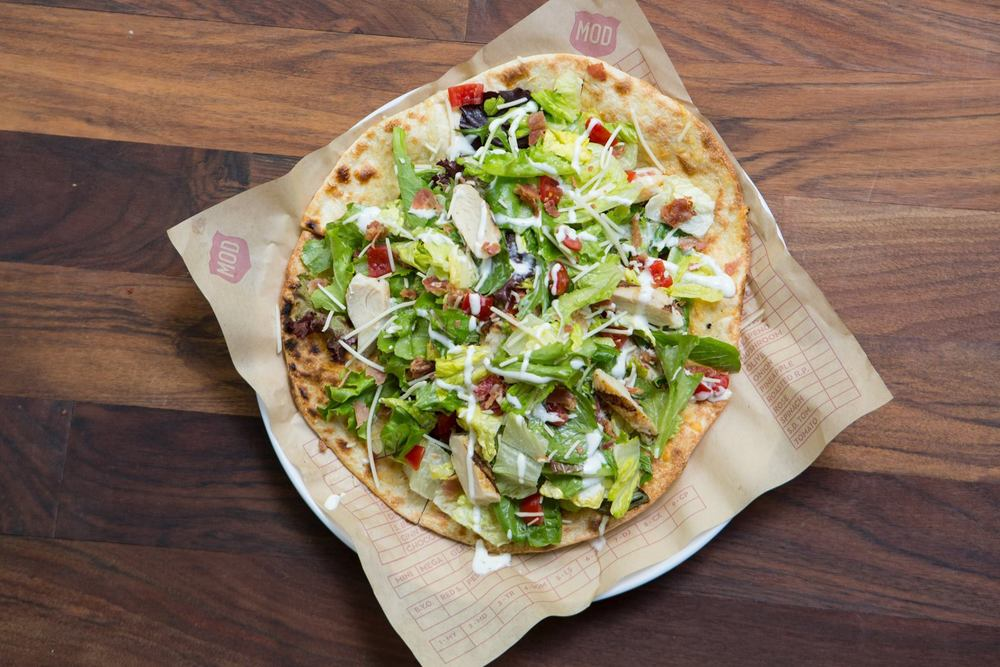 MOD's new Cannon Club Pizza Salad | Credit: Facebook/MOD Pizza