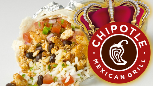 Chipotle lands at No. 3 for Q2 2015