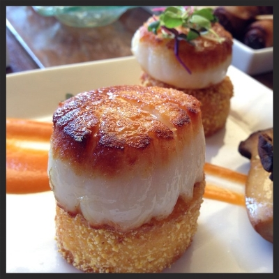 Seared Scallops at La Cave  | Yelp, Selina P.