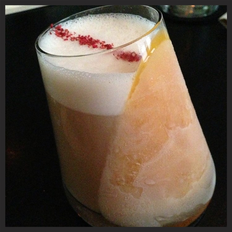 Five Timers Club at The Aviary (mole, pistachio, orange, mango, and rum)  | Yelp, Janice C.