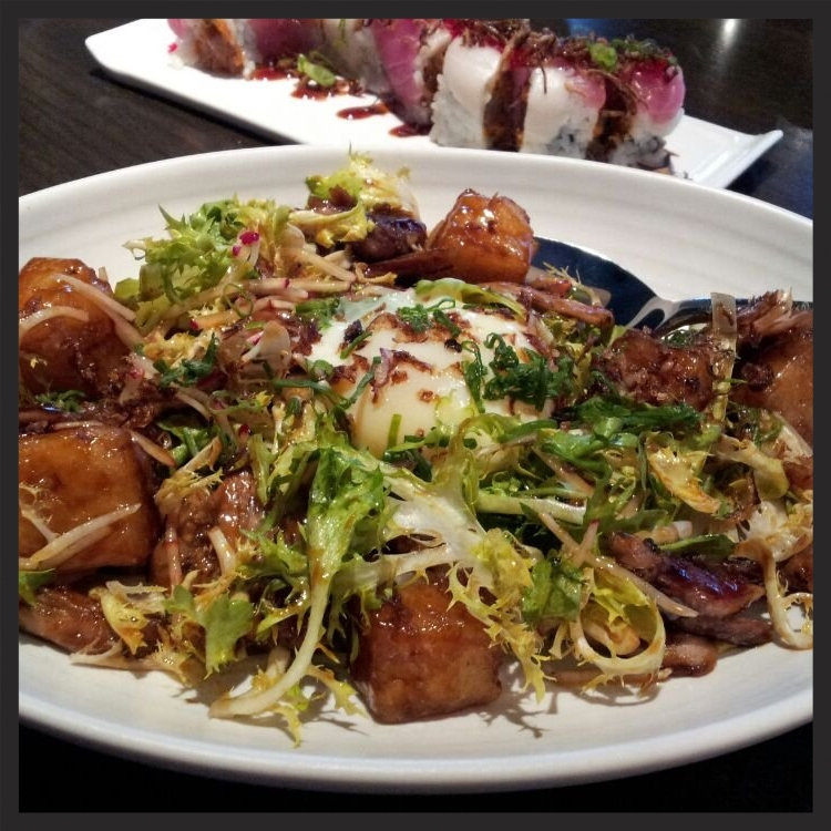 Roasted Duck and Daikon Hash at Earth + Ocean  | Yelp, Cristie F.