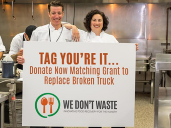 'We Don't Waste' Charity  | Courtesy of We Don't Waste