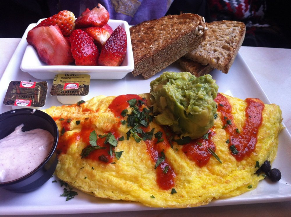 Silver Diner's Oaxaca Omelette | Yelp, Sara R.