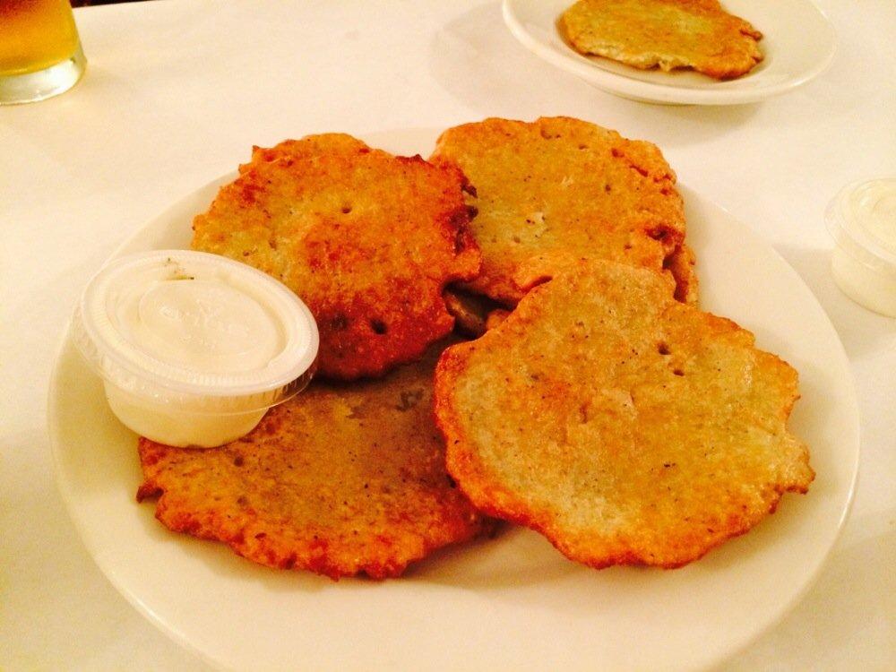 Potato Pancakes at Polish Village Café| Yelp, Shauna G.