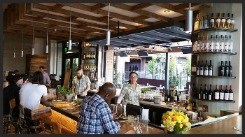 Greenleaf Hollywood's Full Bar Service | Foodable WebTV Network