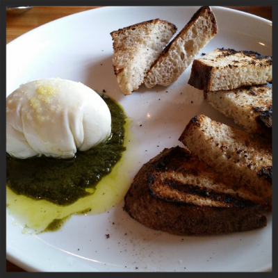Burrata and Toast at Gold Cash Gold | Yelp. Samantha J