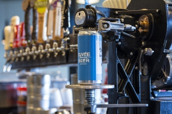 Cuvée Coffee Bar's Crowler Machine | Yelp, Cuvée Coffee Bar