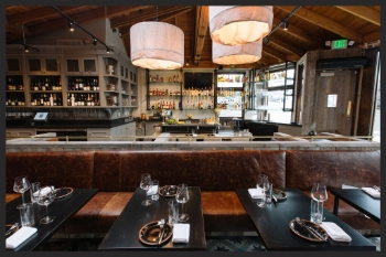 Interior of Steak and Whisky  | Lanewood Studio
