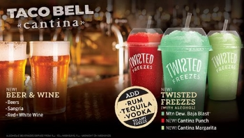 Taco Bell's Alcoholic Offerings  | Photo Courtesy Taco Bell