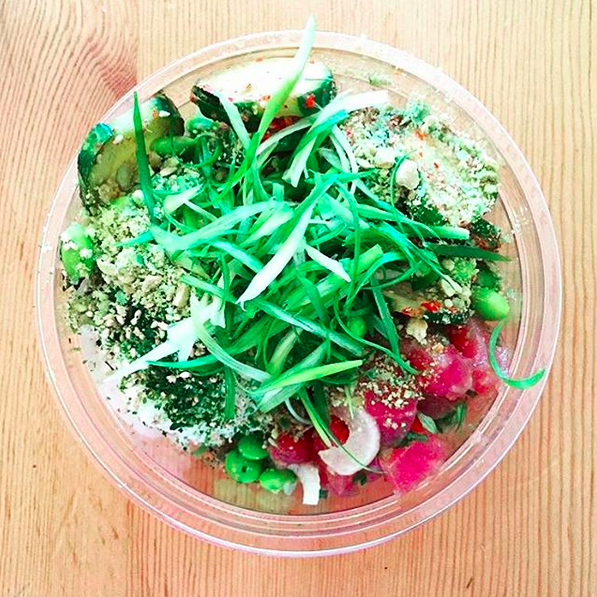 Poke Bowl  | Credit: Instagram, @sosupersam