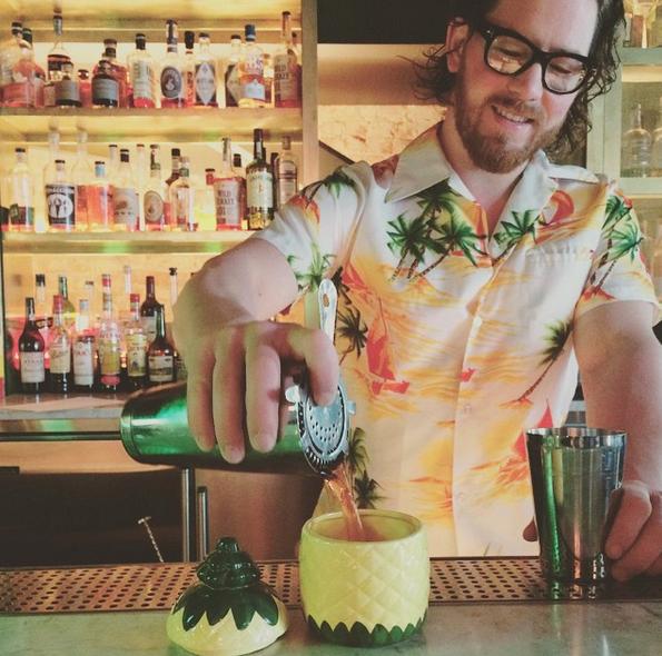 Tiki-inspired cocktails on a Sunday | Credit: Instagram, @pennyroyalseattle