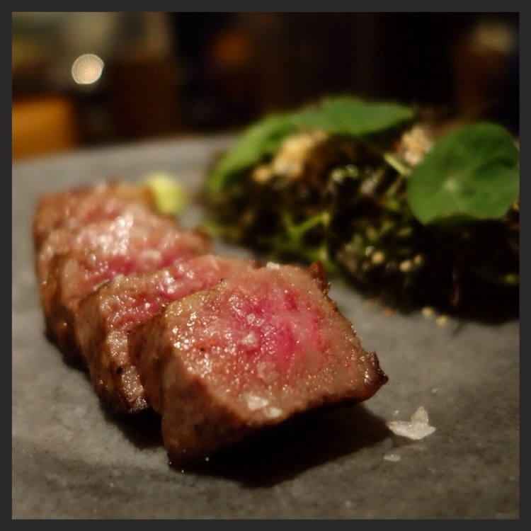 Japanese Kobe rib eye at Bazaar Meat by José Andrés  | Yelp, Mike O.