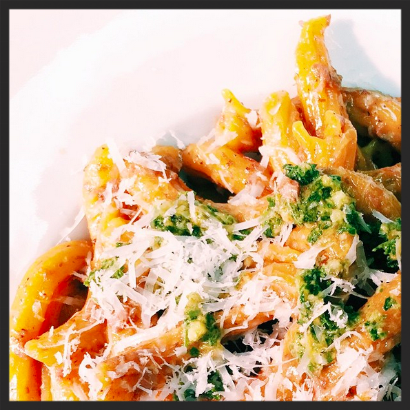 Carrot Garganelli at Graffiato | Credit: Instagram, @friv_kennik
