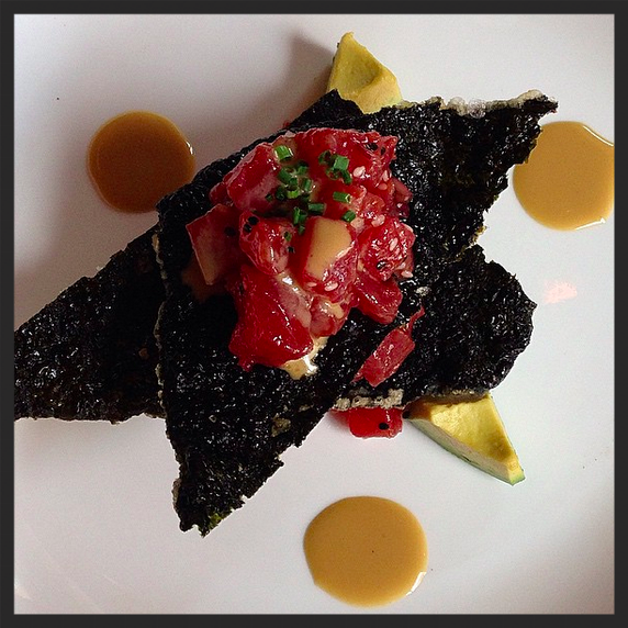 Tuna Tartare at Proof | Credit: Instagram, @laur.mig