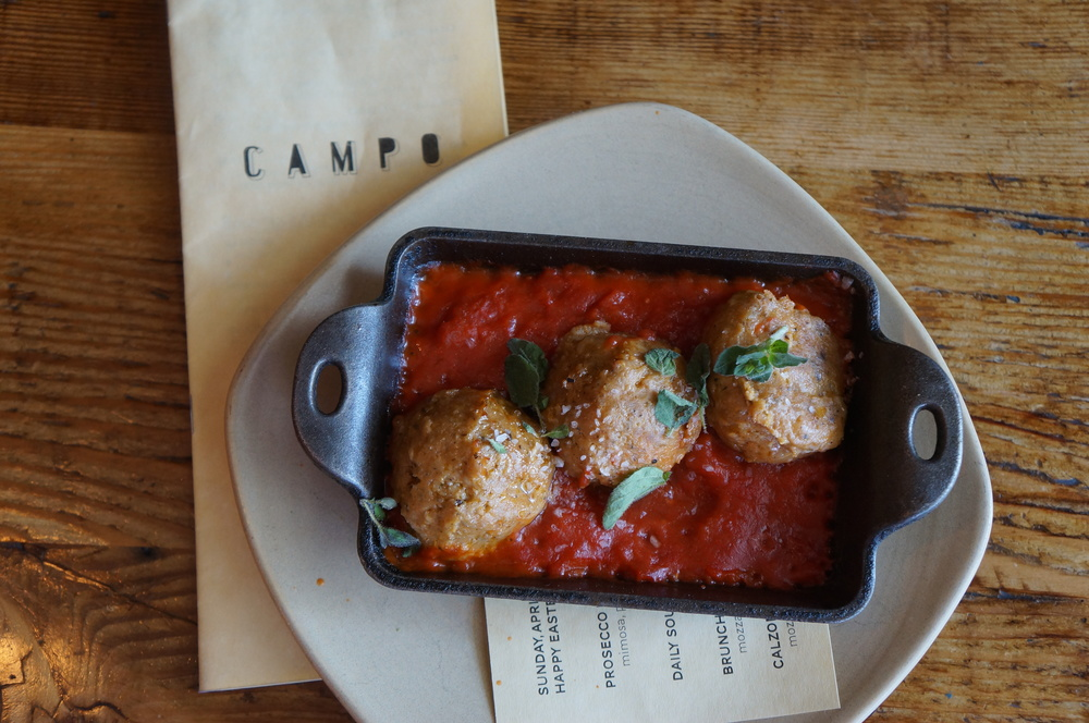 Meatballs  | Photo Courtesy of Campo