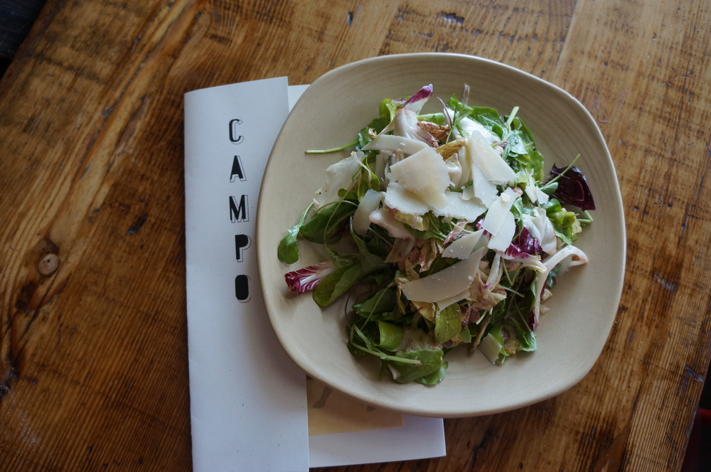Chicories Salad  | Photo Courtesy of Campo