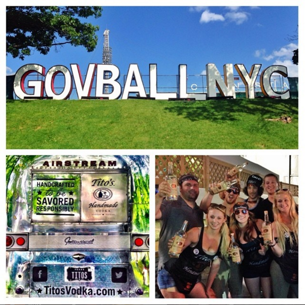 Tito's at The Governers Ball music festival in NYC | Instagram, @titosvodka