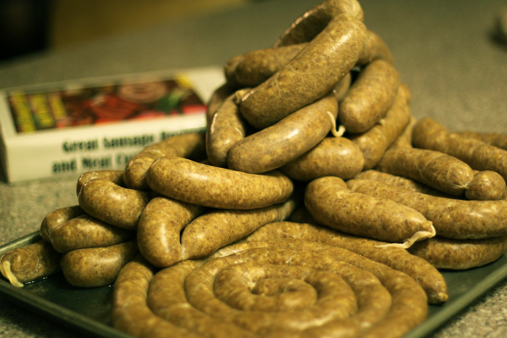 House made sausages | Brian Murphy for Foodable WebTV Network