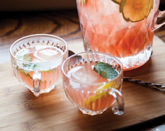 Planter's House Punch  | Credit: Jonathan Gayman