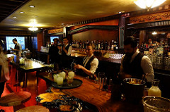 Clifton's Mixology Staff  | Allison Levine for FoodableTV