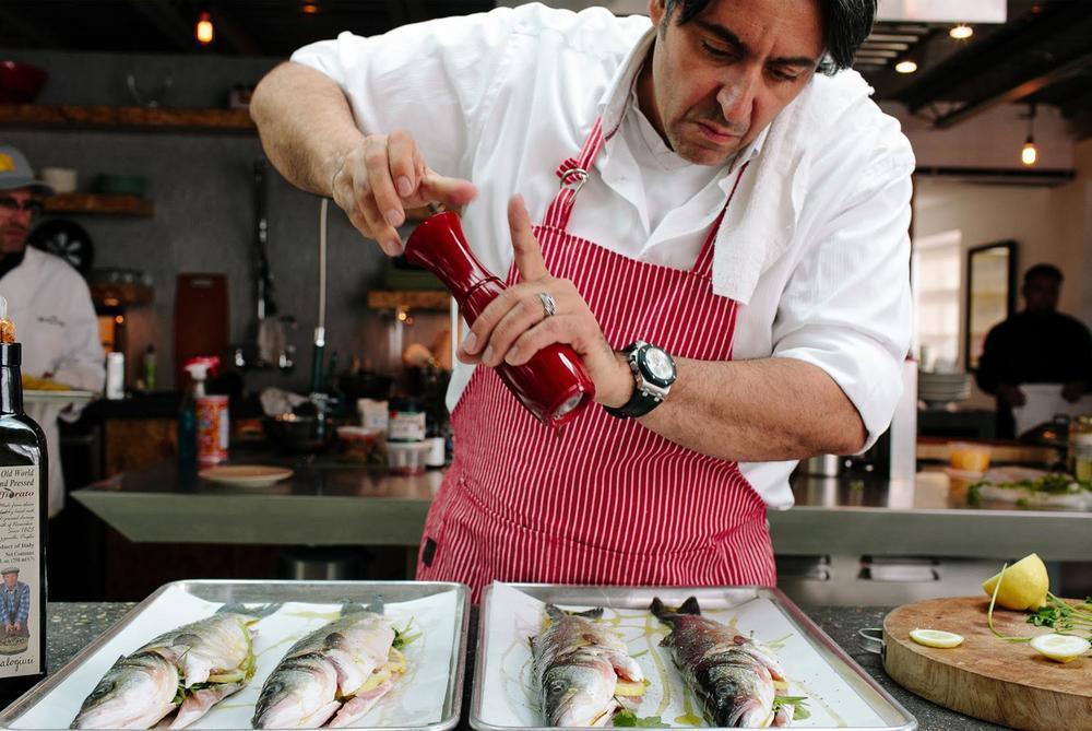 Chef Luciano DelSignore  | Courtesy of Near Perfect Media
