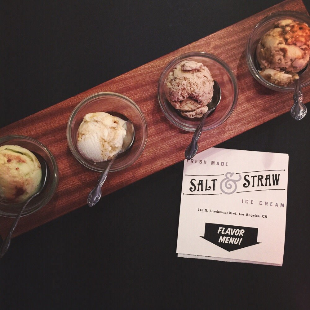 Ice Cream Flight | Yelp, Grace W.