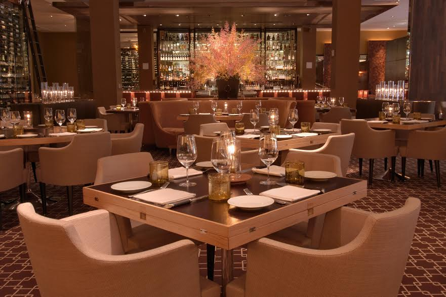 The dining room at Bourbon Steak in Aventura | Photo Courtesy of Bourbon Steak