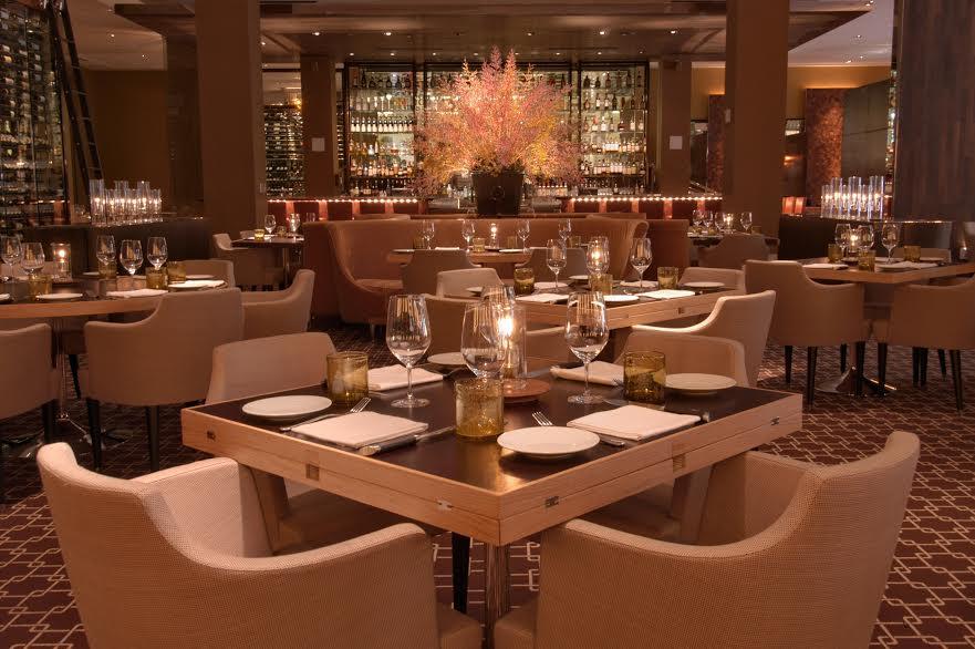The dining room at Bourbon Steak in Aventura | Photo Courtesy of Bourbon Steak