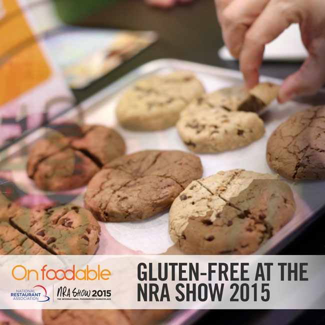 Watch Now: Gluten-free options improve, as seen at the 2015 NRA Show