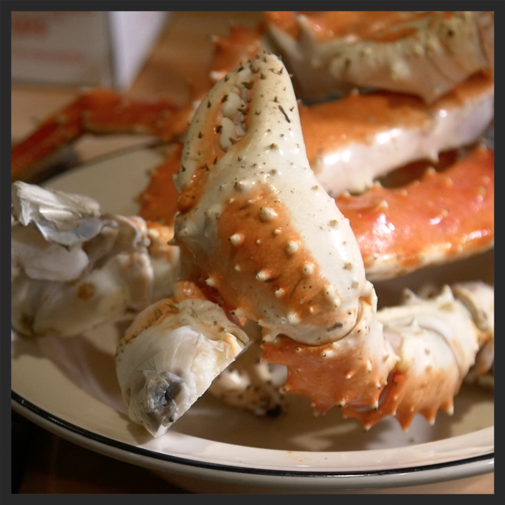 King Crab at The Carlile Room  | Foodable WebTV Network