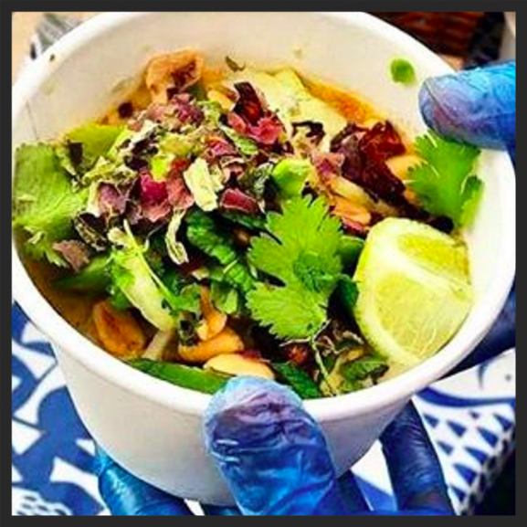 SeaDog's smoked herring laksa was offered at this year's event  | Instagram @seadogfoods