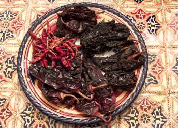Assorted Dried Chiles | Brian Murphy for Foodable WebTV Network
