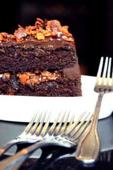 Overly Indulgent Chocolate Cake | Brian Murphy for FoodableTV