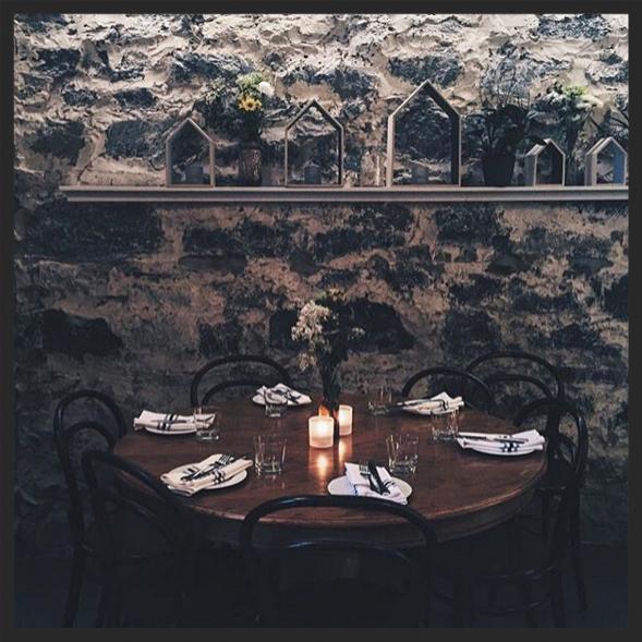 Interior at La Petite Maison  | Instagram @petitemaisonmtl