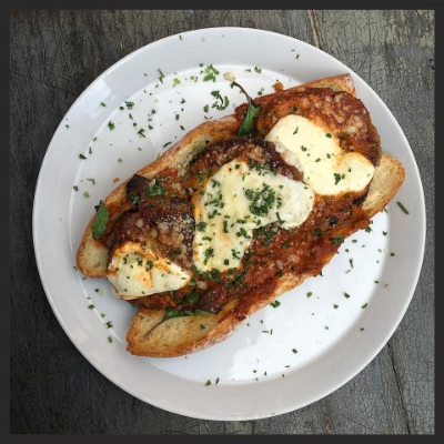Eggplant Parmesan at Vert Kitchen  | Facebook