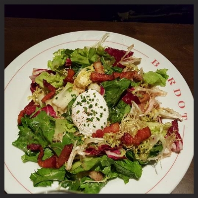 Fresh Salad at Bardot Brasserie | Facebook