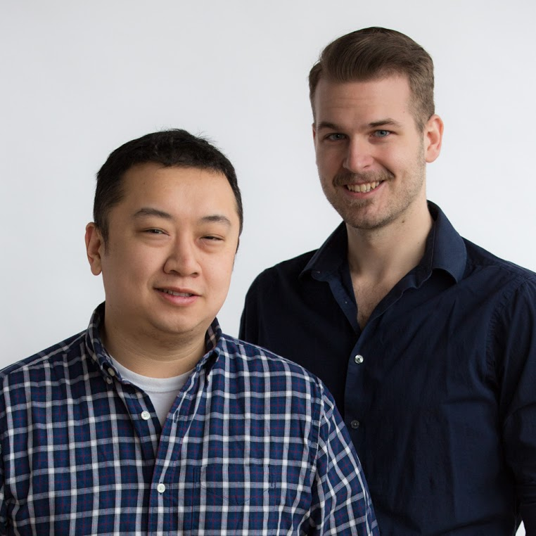 Kevin Pang (left) and Mark Helenowski (right).Photo courtesy of Kevin Pang.