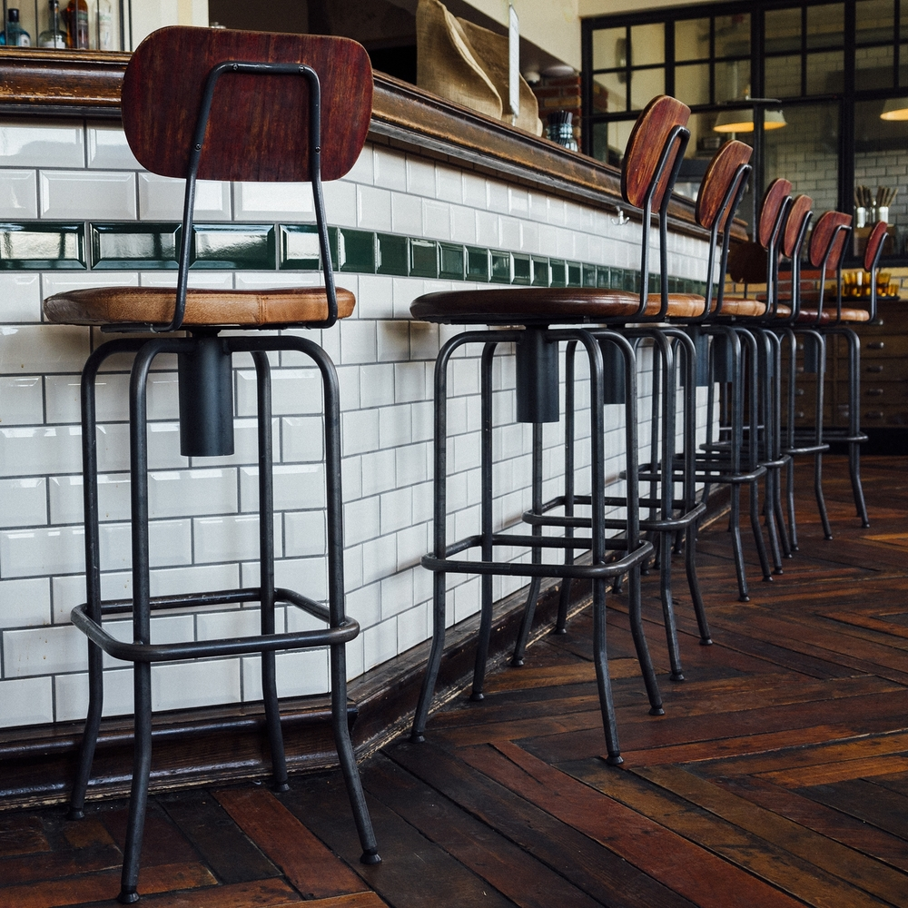 No. 22: Austin's Counter 3. Five. VII replaces service staff with chefs.